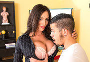 Ariella Ferrera & Bambino in My First Sex Teacher