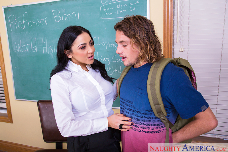 audrey bitoni porn sex in classroom