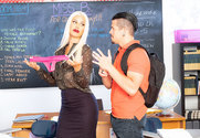 Bridgette B. & Bambino in My First Sex Teacher