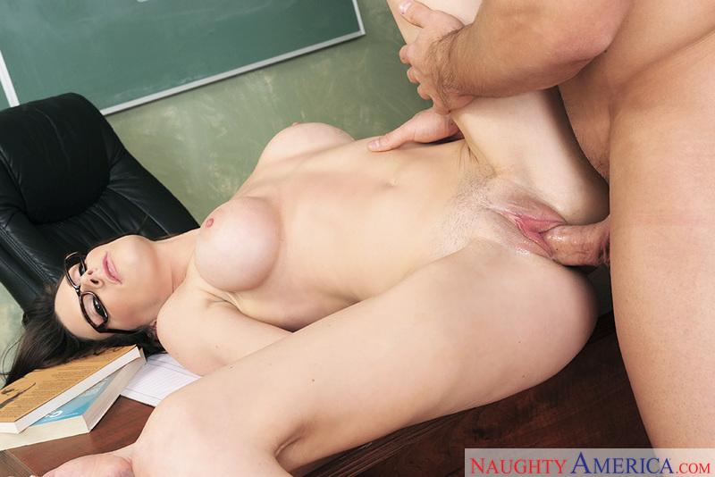 Big tits and pussy fucking teacher