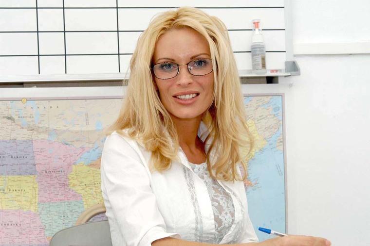 Mrs diamond my first sex teacher