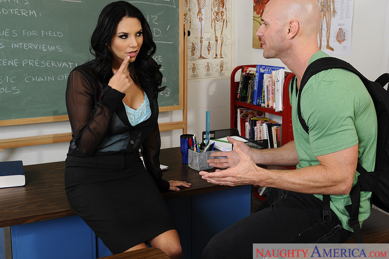 Teacher Missy Martinez fucking in the chair with her tits - Sex Position 2