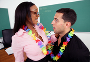 Sinnamon Love & Mikey Butders in My First Sex Teacher