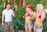 Aaliyah Love & Kagney Linn Karter & Seth Gamble in My Wife's Hot Friend
