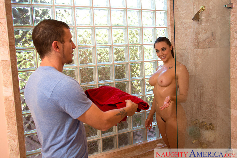Chanel Preston fucking in the bedroom with her tits - Sex Position 2