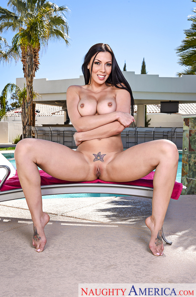 Rachel Starr fucking in the couch with her black hair