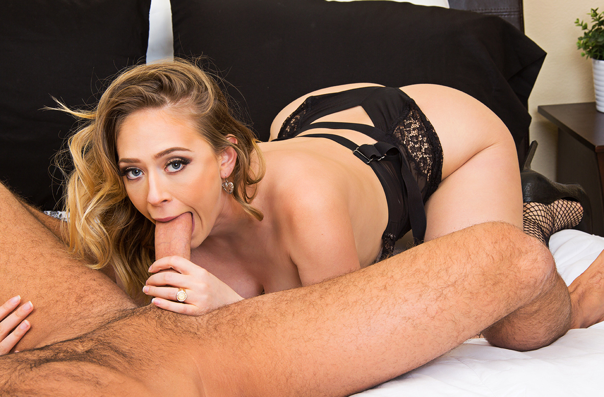Watch Kagney Linn Karter and Chad White 4K video in Dirty Wives Club