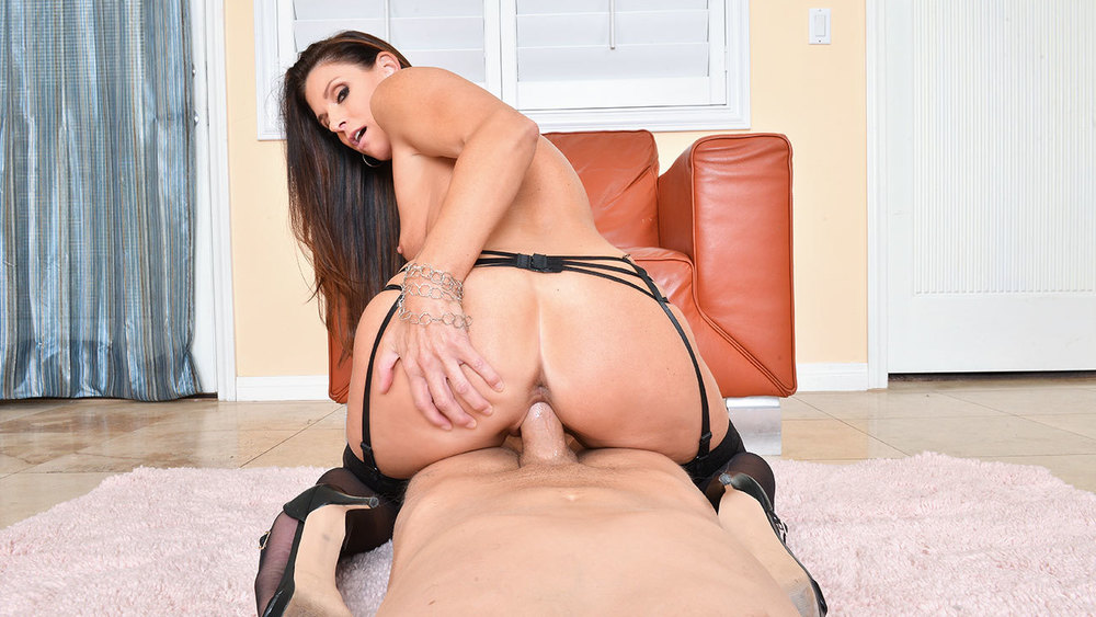Click here to play India Summer fucking in the chair with her lingerie VR porn