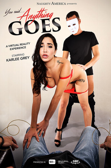 Watch Karlee Grey enjoy some American and Average Body!