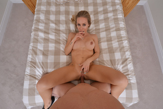 Nicole Aniston fucking in the bed with her tits vr porn - Sex Position 3