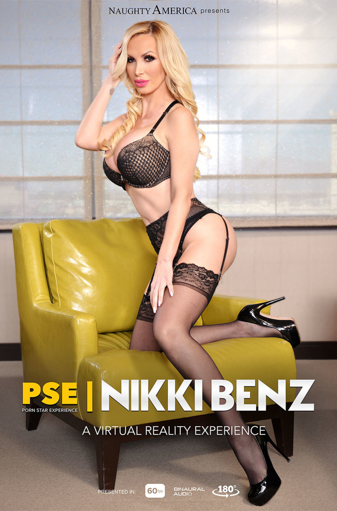 Watch Nikki Benz and Dylan Snow VR video in Naughty America