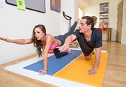 Abigail Mac & Tyler Nixon in Naughty Athletics