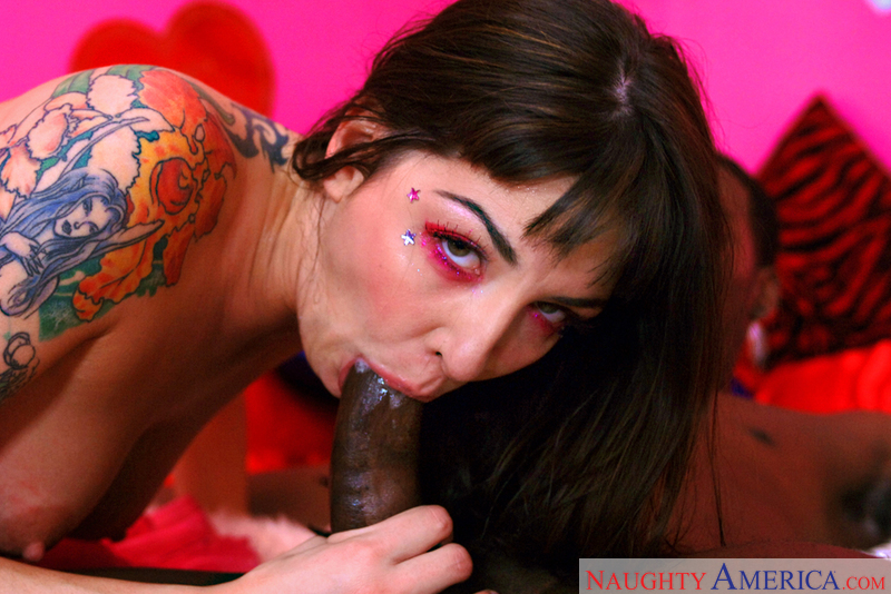 Stranger Lexi Bardot fucking in the bedroom with her tattoos - Sex Position 2