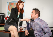 Bree Daniels & Johnny Castle in Naughty Office