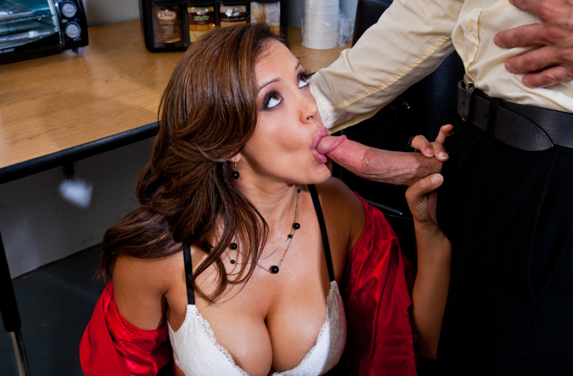 Watch Francesca Le and Bill Bailey video in Naughty Office