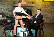 Jade Kush & Alex Legend in Naughty Office