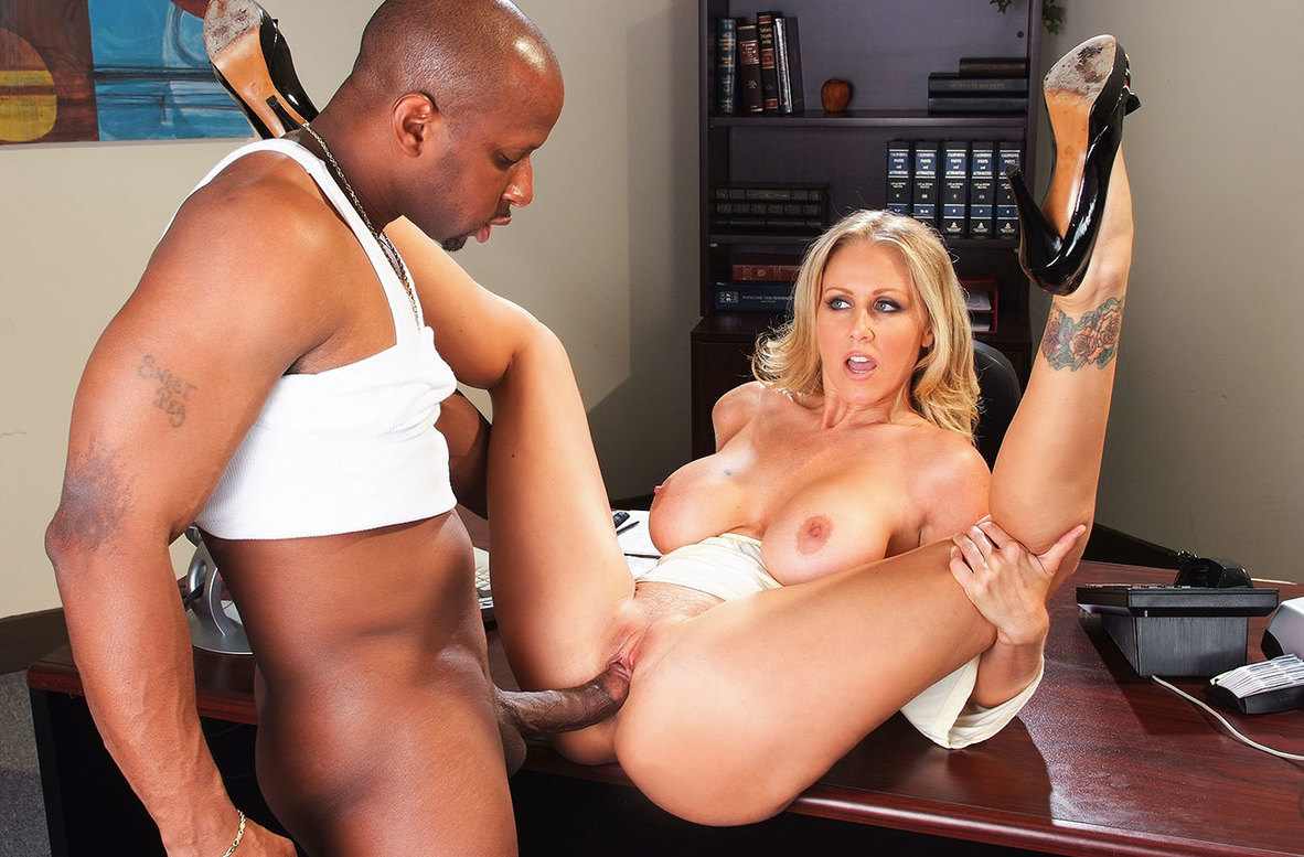 Watch Julia Ann and Prince Yahshua American video in Naughty Office