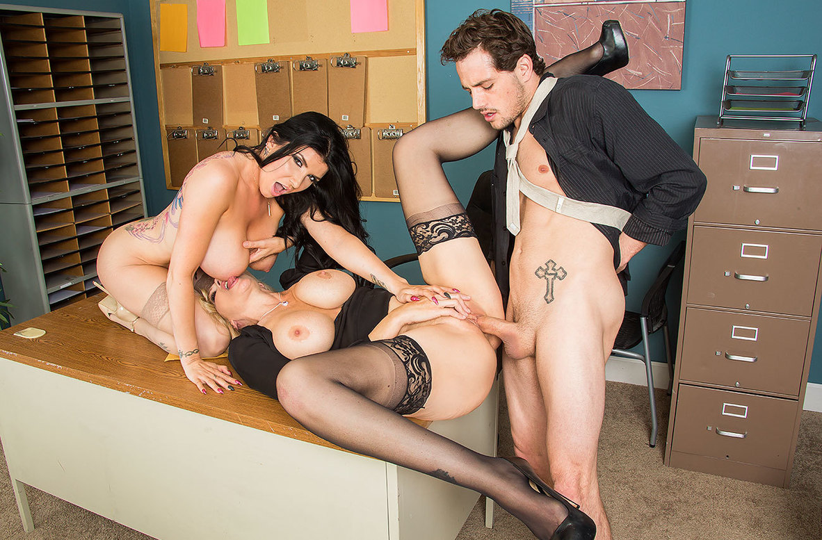 Watch Julia Ann, Romi Rain and Tyler Nixon 4K video in Naughty Office