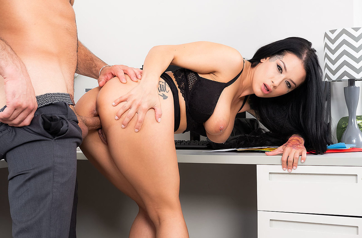 Watch Katrina Jade and Damon Dice 4K video in Naughty Office