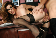 Kayla Paige & Manuel Ferrara in Naughty Office