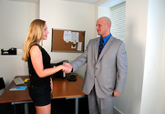 Lauren Phoenix & Christian in Naughty Office