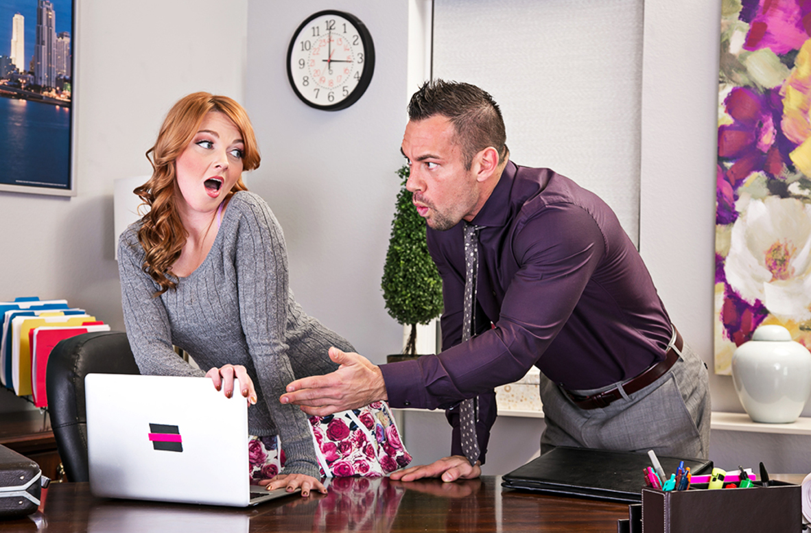 Watch Marie McCray and Johnny Castle 4K video in Naughty Office