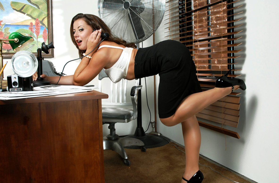 Watch Aiden Starr, Penny Flame, Alan Stafford, Charles Dera and Herschel Savage video in Naughty Office