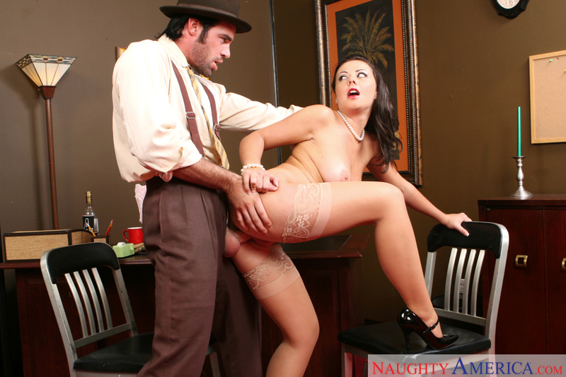 Aiden Starr  Alan Stafford In Naughty Office - Naughty America Hd Porn Videos-3663