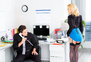 Sarah Jessie & Tyler Nixon in Naughty Office