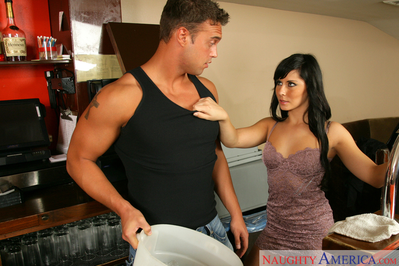 Madison Ivy fucking in the public place with her small tits - Sex Position 1