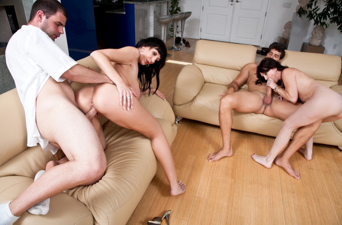 Watch Alia Janine, Rayveness, Ralph Long and Ramon Nomar video in Seduced By A Cougar