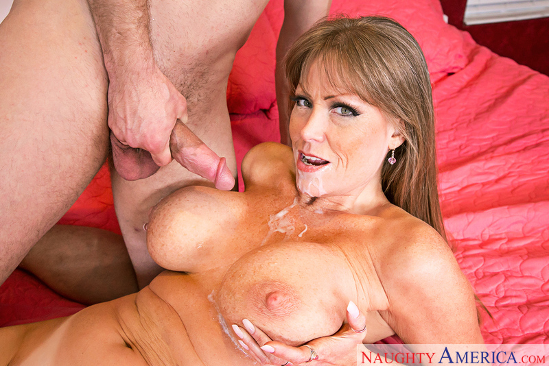Darla Crane fucking in the bedroom with her tits - Sex Position 3