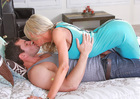 Mature Emma Starr fucking in the bedroom with her blue eyes - Sex Position 2