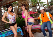 Eva Karera & Romi Rain & Van Wylde in Wives on Vacation